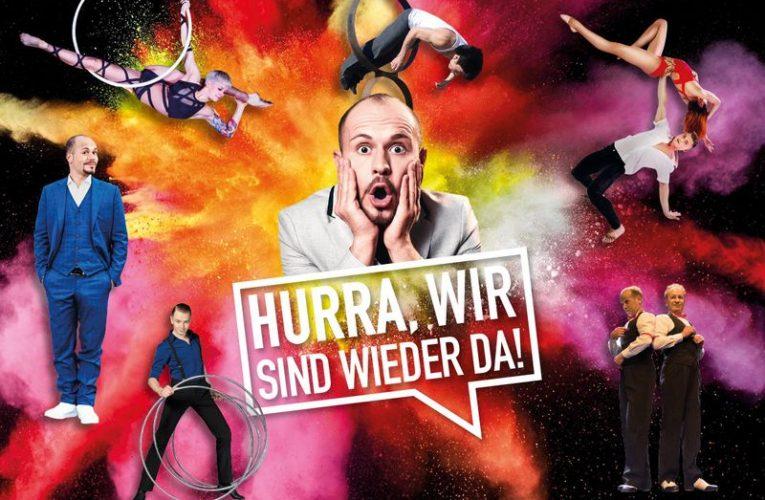 """HURRA, WIR SIND WIEDER DA! im """"et cetera Varieté"""" Bochum"""
